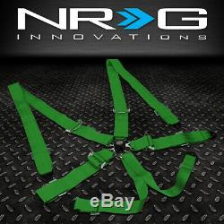 NRG INNOVATIONS SBH-6PCGN 6-POINT 2WIDTH SEAT BELT HARNESS WithCAM LOCK BUCKLE