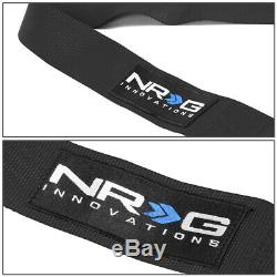 NRG INNOVATIONS SBH-R6PCBK 5-POINT 3WIDTH SEAT BELT HARNESS WithCAM LOCK BUCKLE