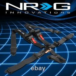 NRG SBH-R5PCBK SFI 16.1 Latch&Link 5-Point Racing Harness Seat Belt Replacement