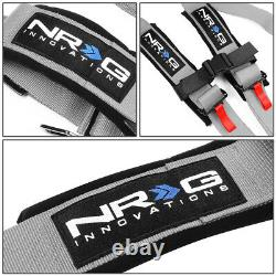 NRG SBH-R5PCSL SFI 16.1 Latch&Link 5-Point Racing Harness Seat Belt Replacement