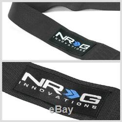 NRG SBH-RS5PCBK 5-Point Cam Lock Black SFI 16.1 Racing Seat Belt Harness
