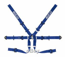 New! 04819 H Sparco Seat Belt Saftey Harness Lightweight 6 Point FIA Approved