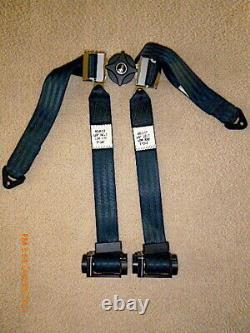 Nice Pacific Scientific Seat Belt & Shoulder Harness w Take-up Reel, Likely New