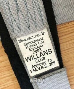 Nismo Willans Harness Seat Belt Rare 4 Point Takata Sabelt GTR R32 R33 R34 S15