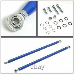 Nrg Innovations Hbr-002bl 49 Aluminum 4-point Safety Seat Belt Harness Bar Set