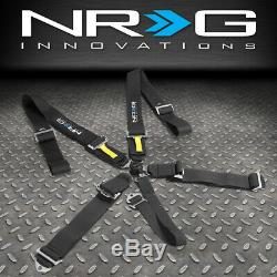 Nrg Innovations Sbh-rs5pcbk Sfi 16.1 Approved Cam Lock 5-point Seat Belt Harness