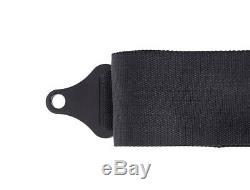 PRP 5 Point Harness 3 Pads Seat Belt Black UTV RZR XP X3 RS1 Set of 2 SFI 16.1