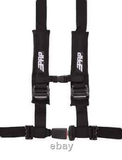 PRP Seats 4.2 Harness (4 Point with 2 Belts, Automotive Latch) Black, PACK OF 4