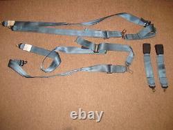 Pair Schroth Grumman AA-1 series Seat Belt shoulder harness set