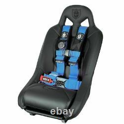 Pro Armor Seat Belt Harness 4PT 3 Padded Polaris RZR XP /S /4 /1000 BLUE PAIR