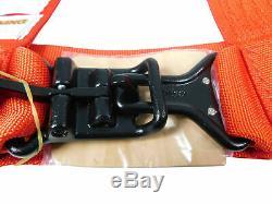 Pro Armor Seat Belt Harness 4 Point 3 Padded Polaris RZR XP S /4 /1000 RED PAIR