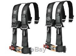 Pro Armor Seat Belt Safety Harness 4 Point for Honda /John Deere Kubota UTV PAIR