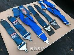 Pyrotect & RJS Safety Harness 5 Link SFI Spec 16.1 Equipment Racing Seat Belts