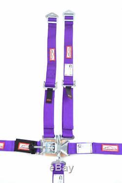 Quarter Midget Racing Harness Sfi 16.1 5 Point Latch & Link Seat Belt Purple