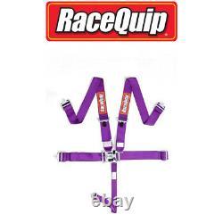Racequip 5 Point Purple Seat Belts PAIR 711051 Racing Harness IMCA razor rzr