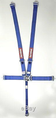 Racequip Blue 5 point Racing Harness Seat Belts 711021 CURRENT SFI DATES Razor