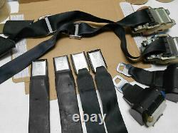Real Gm 1978 81 Camaro Firebird Orig Seat Belts & Shoulder Harness Matched Set