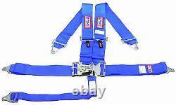 Rjs Racing Equipment Sfi 16.1 Safety Seat Belt Harness Blue 50502-18-06-3