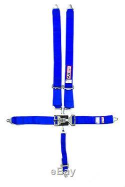 Rjs Racing Seat Belts Harness Bl Ind L&l Bolt-in 5pt 3 Shoulder 2sub #1127803
