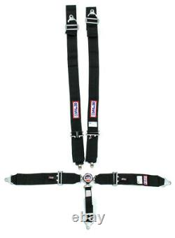 Rjs Safety 1034101 Seat Belt Harness 5 Point with Cam Lock in Black SFI-16.1