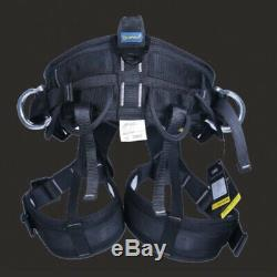 Rock Climbing Harness Tree Surgeon Rappelling Equip Seat Safety Bust Belt Adjust