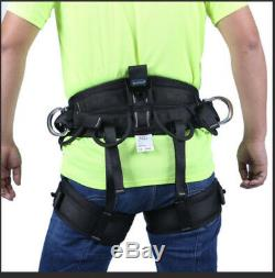Rock Climbing Tree Surgeon Rappelling Equipment Harness Seat Sitting Bust Belt