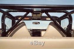 Rock Hard 4X4 Front Seat Angled Driver Side Harness Bar 79-06 Jeep CJ YJ TJ LJ