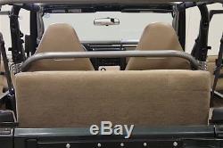Rock Hard 4X4 Front Seat Straight Across Harness Bar 97-06 Jeep Wrangler TJ LJ