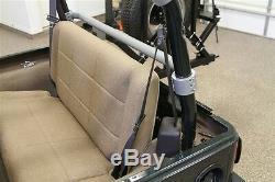 Rock Hard 4X4 Rear Seat Harness Bar 92-95 Jeep Wrangler YJ RH-1002-H Bare