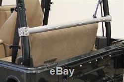 Rock Hard 4X4 Rear Seat Harness Bar Bare fits 97-06 Jeep Wrangler TJ RH-1001-J