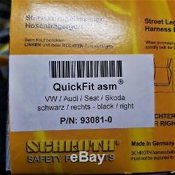 SCHROTH VWithAUDI/SEAT/SKODA QUICKFIT ASM HARNESS BELT