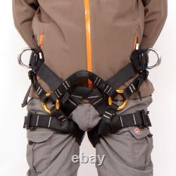 Safety Sit Seat Harness Bust Belt for Outdoor Tree Carving Tree Climbing