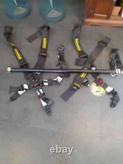 Schroth Lotus Elise 2-11 Exige S1/S2 / S3 5 Point Harness Seat Belt and Bar