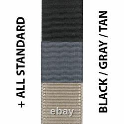 Seat Belt Webbing Replacement Seatbelt Harness Strap Any Color