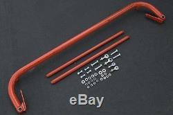 Seatbelt/Seat Belt Harness Bar Kit Red 47-52.5 Adjustable Universal