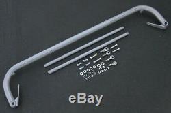 Seatbelt/Seat Belt Harness Bar Kit Silver 47-52.5 Adjustable Universal