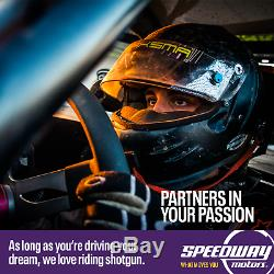 Simpson 29063BK Black 5-Point Seat Belt Harness Set, Pull Down