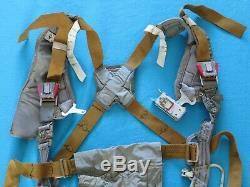 Soviet Russian Fighter Pilot MiG Ejection Seat KM-1 Parachute Harness PS-M Belts