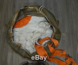 Soviet Russian Parachute PSU-36 orange belts IPS-72 Harness Ejection Seat K-36
