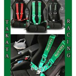 TAKATA 4/5/6 Point Snap-On 3 With Camlock Racing Seat Belt Harness Universal
