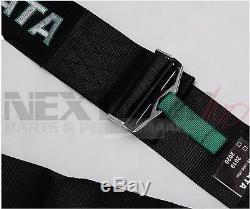 TAKATA BLACK 4 POINT DRIFT III Seat Belt Racing Harness CAMS 2021 JDM FREE GIFT