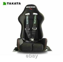 TAKATA BLACK 4 Point Snap-On 3 With Camlock Racing Seat Belt Harness DHL FedEX