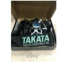 Takata 4 Point Snap-On 3 With Camlock Racing Seat Belt Harness Black Universal