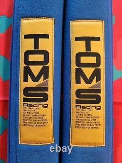 Tom's Racing Harness Seat Belt Pads Rare Toyota TRD AE86 NOS