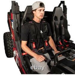 Tusk 4 Point 3 inch H-Style Safety Harness Belt Driver Side YAMAHA VIKING YXZ