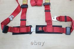 Vintage JDM TOM'S Racing Seat Belt Sport Harness Set