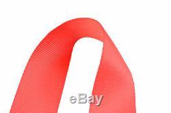 Wrap Around U Racing Harness Belt Sfi 16.1 5 Point 3 Cam Lock Seat Belt Red